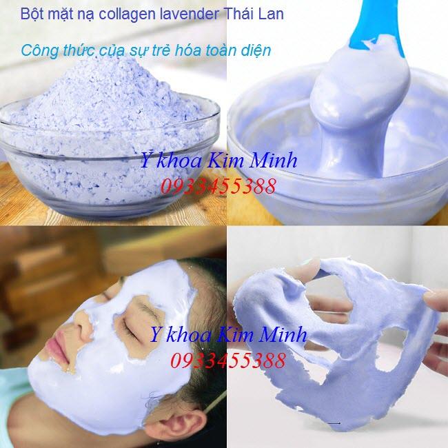 Bán bột mặt nạ collagen lavender Thái Lan tại Tp Hồ Chí Minh - Y Khoa Kim Minh 0933455388