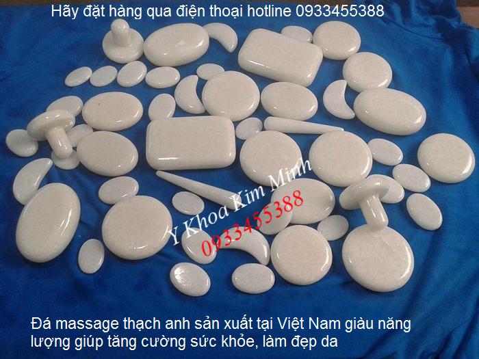 Bán đá massage thạch anh dùng massage mặt sản xuất tại Việt Nam - Y Khoa Kim Minh 0933455388