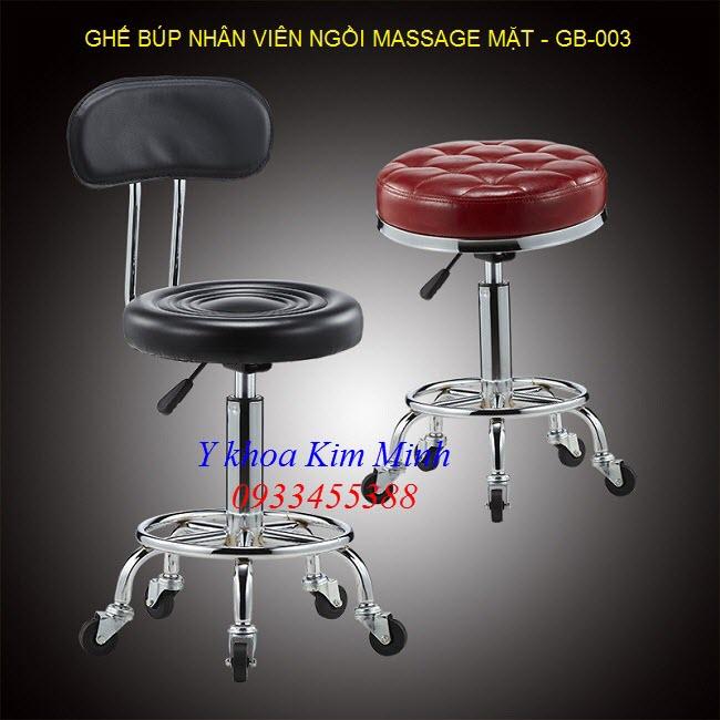 Bán ghế búp cho nhan viên spa massage chăm sóc da mặt GB-003 - Y Khoa Kim Minh 0933455388