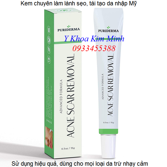 Kem chuyen lam day seo, tri seo ro seo mun PuriDerma ban o Tp Ho Chi Minh - Y khoa Kim Minh