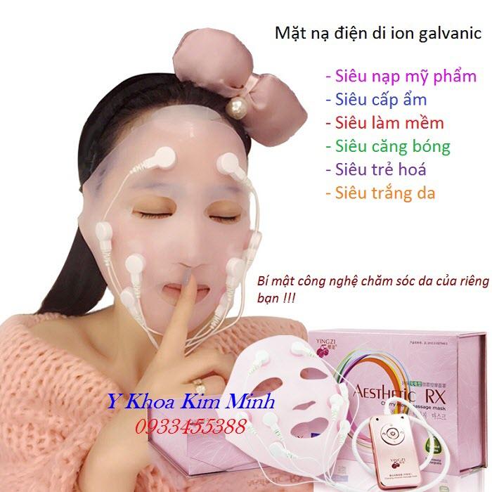 Dia chi ban mat na dien di sieu nap my pham cham soc da YZ-8008-II the he moi - Y Khoa Kim Minh