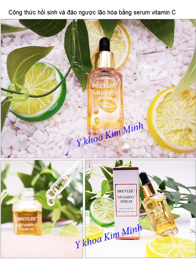 Các bước hướng dẫn làm trắng sáng mịn da bằng serum vitamin C - Y khoa Kim Minh