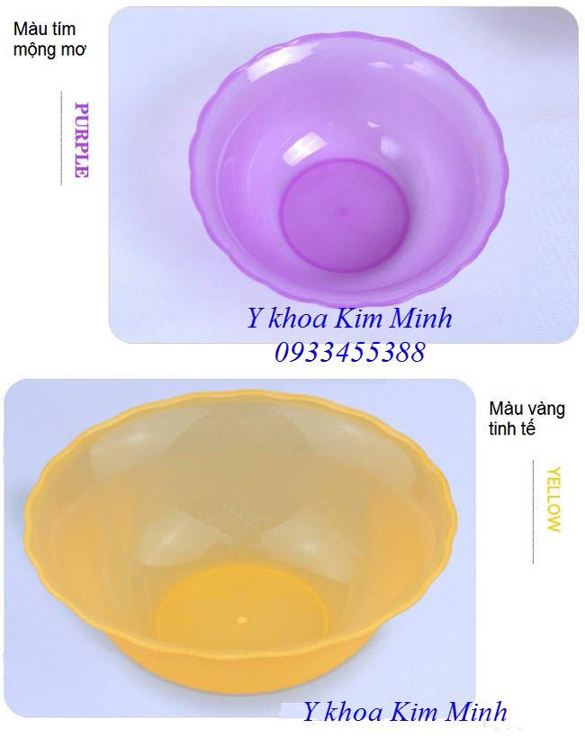 Bát nhựa lớn đựng mỹ phẩm chăm sóc da body - Y Khoa Kim Minh 0933455388