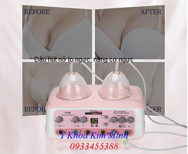 Bầu hút massage nở to ngực, nâng ngực máy chăm sóc da - Y khoa Kim Minh