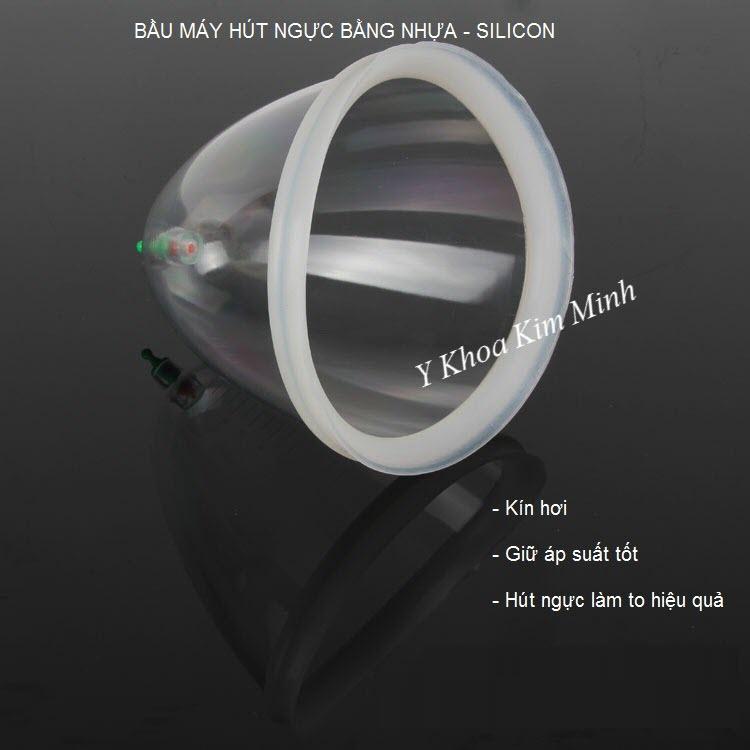 Bầu nhựa hút ngực của dụng cụ hút ngực bằng tay YX - Y khoa Kim Minh 093455388