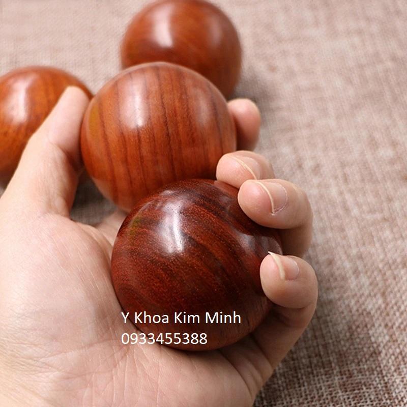Bi gỗ tập tay cho người bệnh tai biến có kích thước 5cm, 6cm