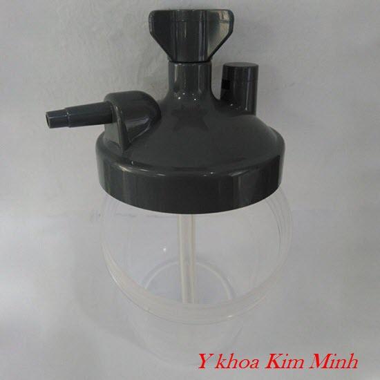 Bình lọc ẩm máy tạo oxy y tế 3 lít, 5 lít ,10 lít bán tại Tp.HCM - Y khoa Kim Minh