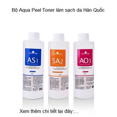 Bộ Aqua Peel Toner Hàn Quốc làm sạch da bán tại Tp Hồ Chí Minh - Y khoa Kim Mnh