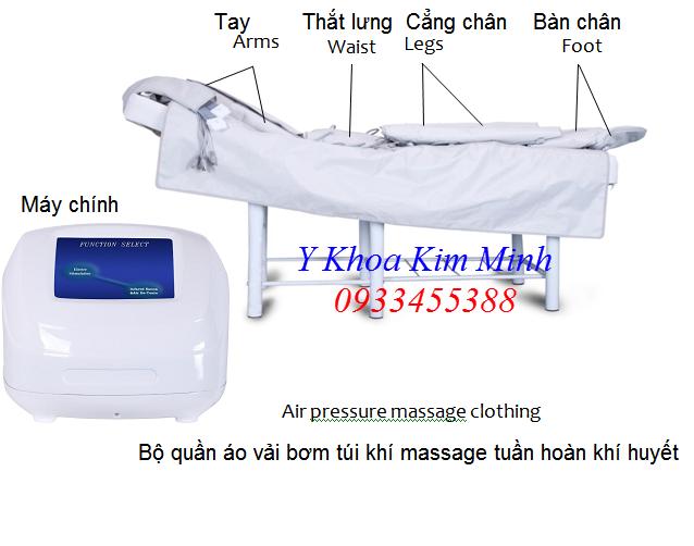 Bộ máy tuần hoàn khí huyết bằng bơm khí nén qua áo vải LD-64 đang bán tại Tp Hồ Chí Minh - Y Khoa Kim Minh 0933455388