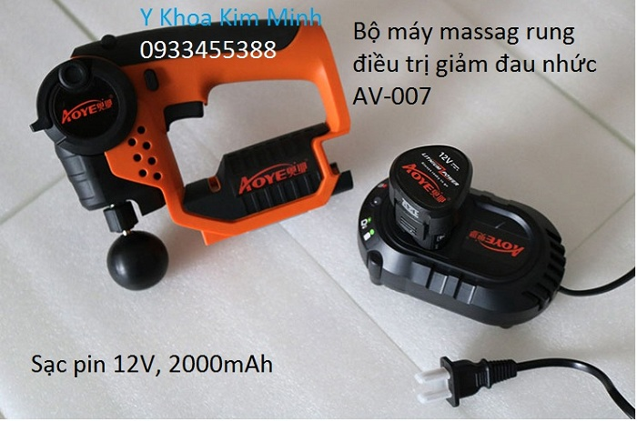 May massage rung 8 dau dung cho nganh vat ly tri lieu giam dau co xuong khop - Y Khoa Kim Minh