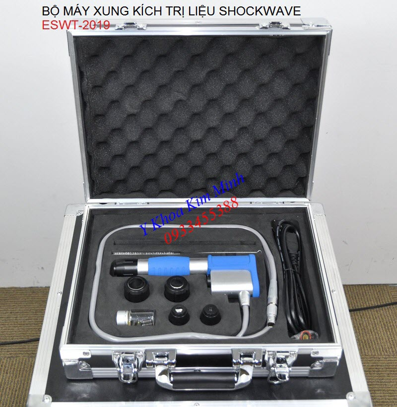 Bộ máy xung kích trị liệu shockwave ESWT-2019 - Y khoa Kim Minh 0933455388
