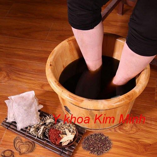 Bồn gỗ ngâm chân thuốc bắc bán tại Tp.HCM - Y khoa Kim Minh