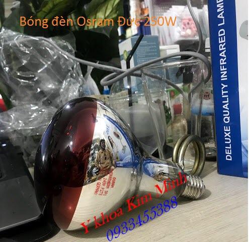 Bóng đèn hồng ngoại Osram của Đức bán tại Tp Hồ Chí Minh - Y Khoa Kim Minh