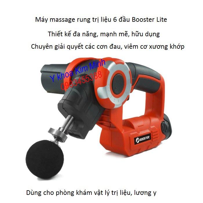 Noi ban may massage booster tri dau co xuong khop 6 đau - Y Khoa Kim Minh