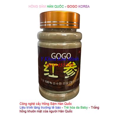 Cấy tảo hồng sâm Hàn Quốc GoGo - Y Khoa Kim Minh
