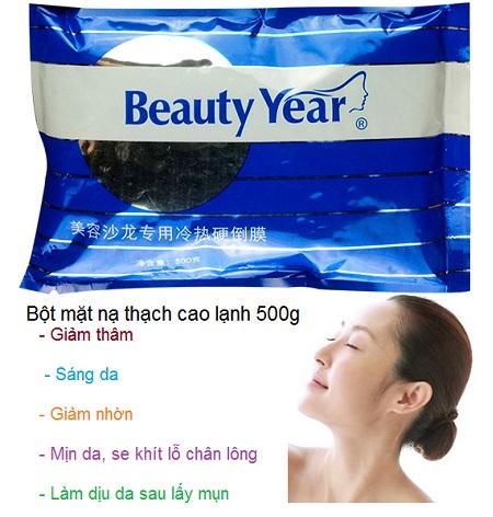 Bột mặt nạ thạch cao lạnh chăm sóc da - Y khoa Kim Minh