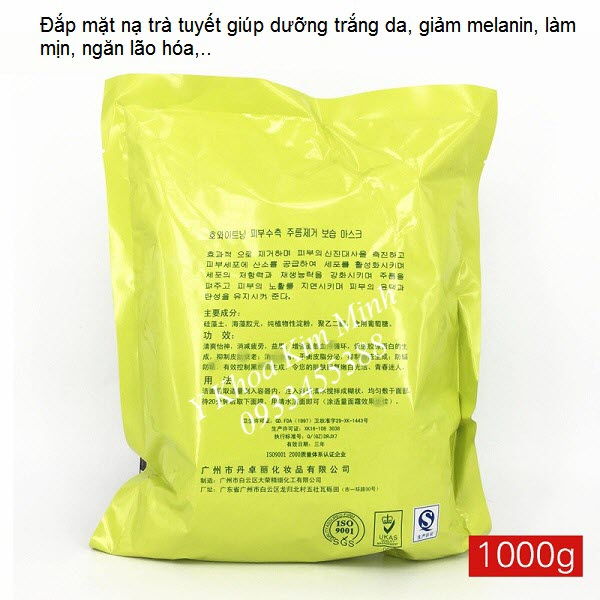 Bot mat nat dap mat trang sang da, bot mat na tra tuyet 1000 g - Y khoa Kim Minh 0933455388