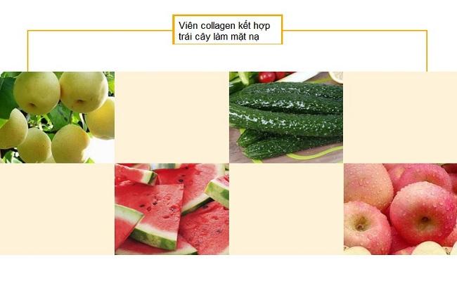 Cách làm mặt nạ trái cây cùng với viên collagen tảo biển - Y khoa Kim Minh 0933455388