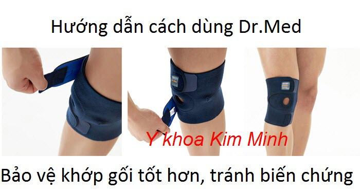 Hướng dẫn cách sử dụng đai miếng dáng bó gối Hàn Quốc Dr Med Dr-K006