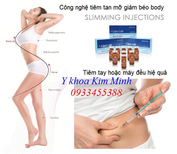 Lipo Lab PPC Solution Korea, chất tiêm tiêu mỡ giảm béo, cho bạn một body Sline đáng ngạc nhiên - Y khoa Kim Minh 0933455388