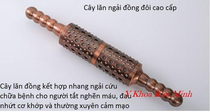 Cây lăn đồng kết hợp nhang ngải cứu chữa bệnh đau nhức cơ khớp và thần kinh - Y Khoa Kim Minh