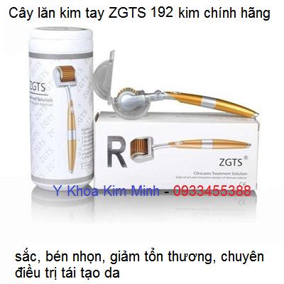 Cây lăn kim tay ZGTS 192 kim chính hãng chuyên lăn kim tái tạo da - Y Khoa Kim Minh 0933455388