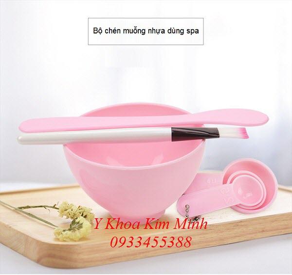 Noi ban chen muong, cho choi quet, thanh tan bot dap mat na spa - Y khoa Kim Minh 0933455388