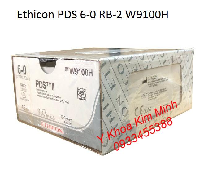 Chỉ khâu phẫu thuật y tế PDS II RB-2 6-0 W9100H