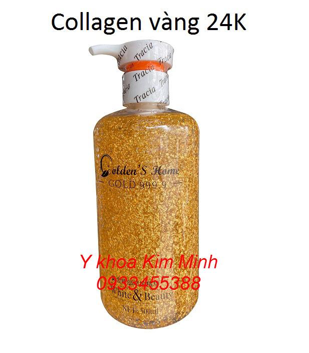 Collagen vàng 24K dưỡng trắng da