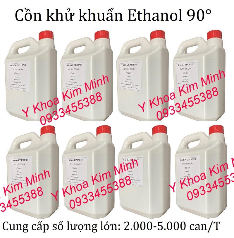 Cồn y tế khử khuẩn 90 độ là loại cồn Ethanol chuyên dùng diệt virus và diệt khuẩn
