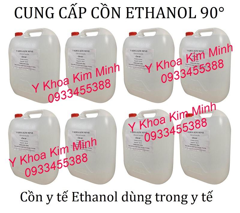 Cồn sát khuẩn 90 độ, Cồn Ethanol