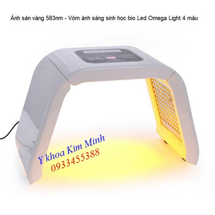 Công dụng đèn ánh sáng bio led vàng vòm Omega Light Omelon - Y khoa Kim Minh