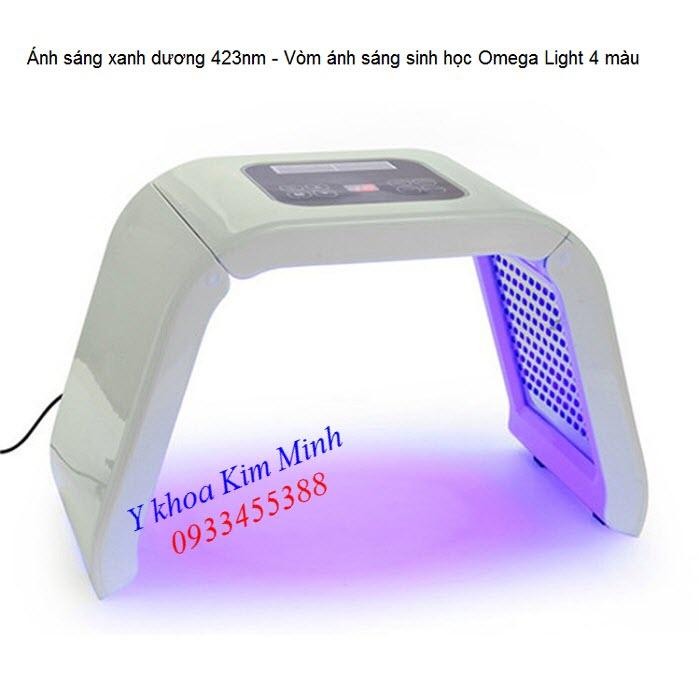 Đèn ánh sáng bio led xanh dương của vòm ánh sáng sinh học Omega Light Omelon - Y Khoa Kim Minh