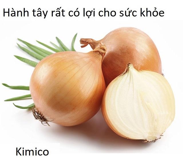 Hành tây có công dụng gì với sức khỏe - Y khoa Kim Minh