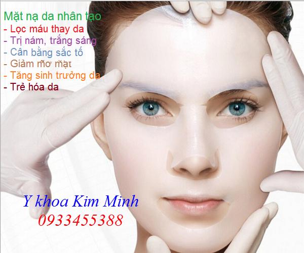 Công dụng của mặt nạ da nhân tạo đổi máu thay da Bio Mask - Y Khoa Kim Minh 0933455388