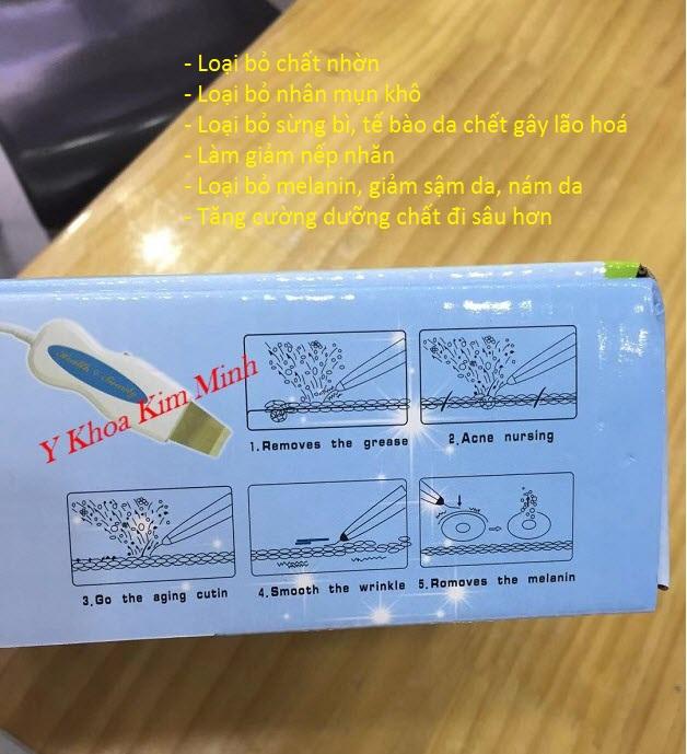 Công dụng chính của máy tẩy tế bào da chết BF 02 - Y Khoa Kim Minh