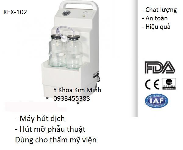 Dia chi cong ty ban may hut mo bung, may hut mo giam beo dung cho nganh tham my KEX-102 - Y khoa Kim Minh