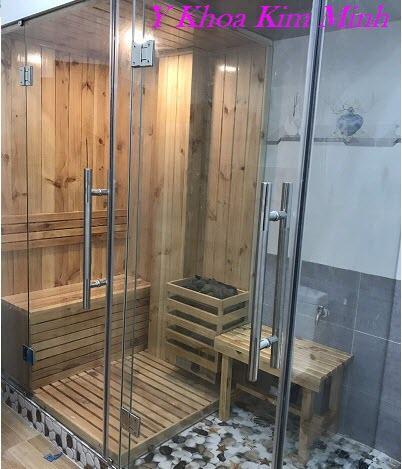 Công ty thiết kế, sản xuất, lắp đặt phòng xông hơi Sauna, Steam, dịch vụ massage bao trọn gói - Y Khoa Kim Minh