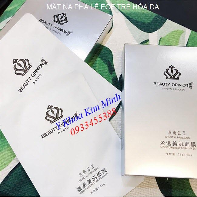 Mặt nạ pha lê trắng sáng da EGF Crystal Mask - Y khoa Kim Minh 0933455388