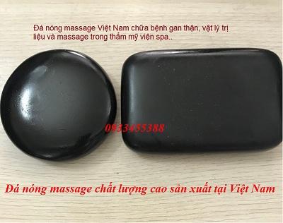 Đá masage nóng Ovan chữ nhật sản xuất tại Việt Nam chất lượng tốt - Y khoa Kim Minh