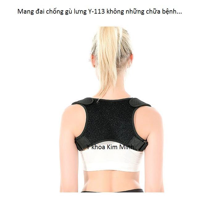 Dai chua benh cong cot song gu lung dung cho hoc sinh, nhan vien, nguoi lon Y-113 - Y Khoa Kim Minh