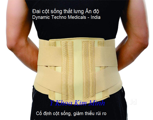 Dai cot song, dai co dinh cot song lung An Do, Dynamic Techno Medicals India - Y khoa Kim Minh