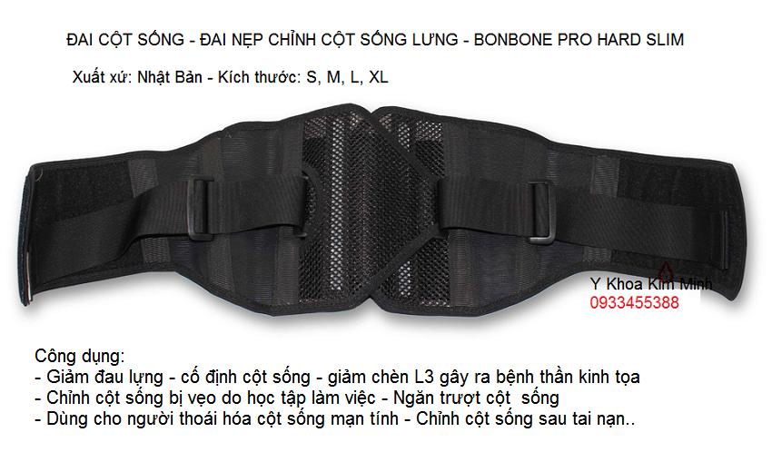 Dai cot song lung Bonbone nhap khau Nhat Ban ban tai Tp Ho Chi Minh - Y khoa Kim Minh 0933455388