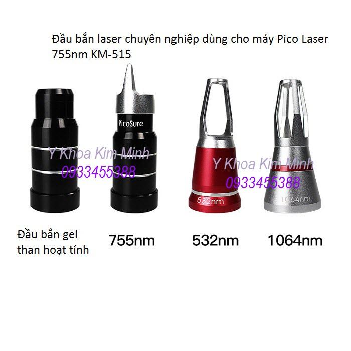 Cung cap dau ban laser picosure 755nm, 1064nm, 532nm, 1320nm bắn than hoạt tính - Y Khoa Kim Minh