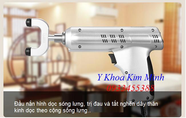 Đầu điều trị của máy bắn sóng xung kích mini Shockwave Ginha - Y khoa Kim Minh 0933455388