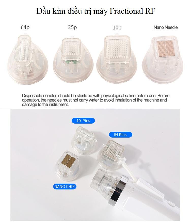 Đầu kim điều trị máy vi điểm ma trận RF - Y Khoa Kim Minh