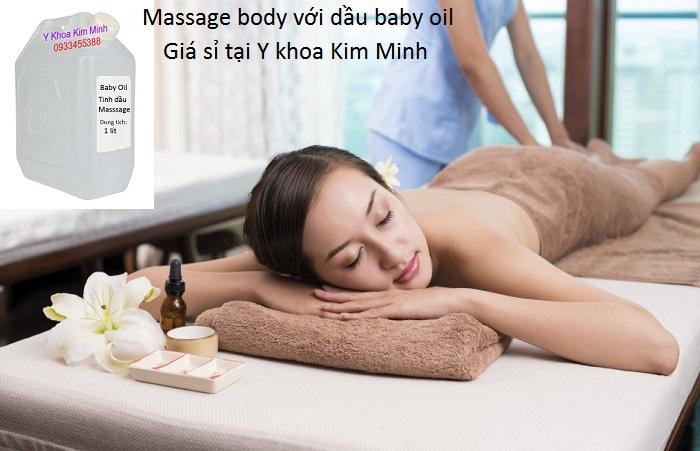 Dầu baby oil massage body giá sỉ - Y khoa Kim Minh