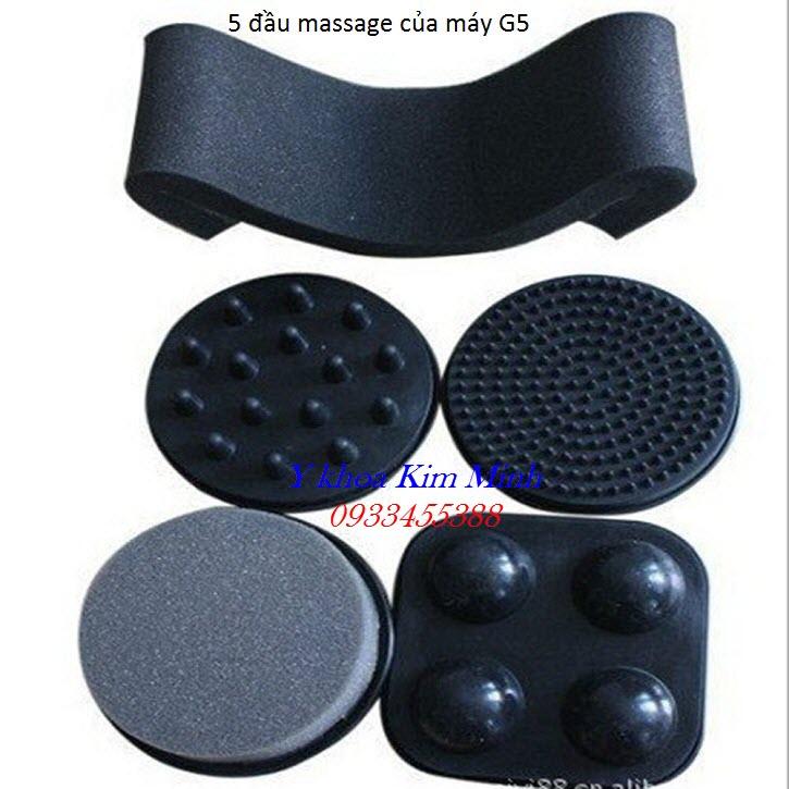 Đầu massage rung của máy giảm béo G5 - Y Khoa Kim Minh