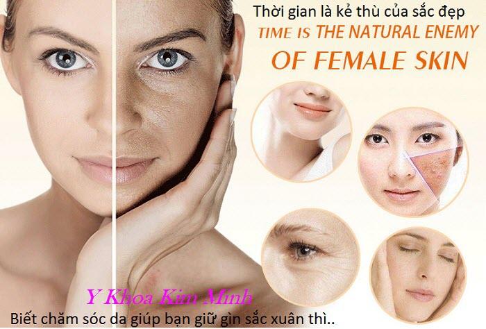 Dầu massage mặt vitamin E cao cấp chuyên nghiệp - Y khoa Kim Minh