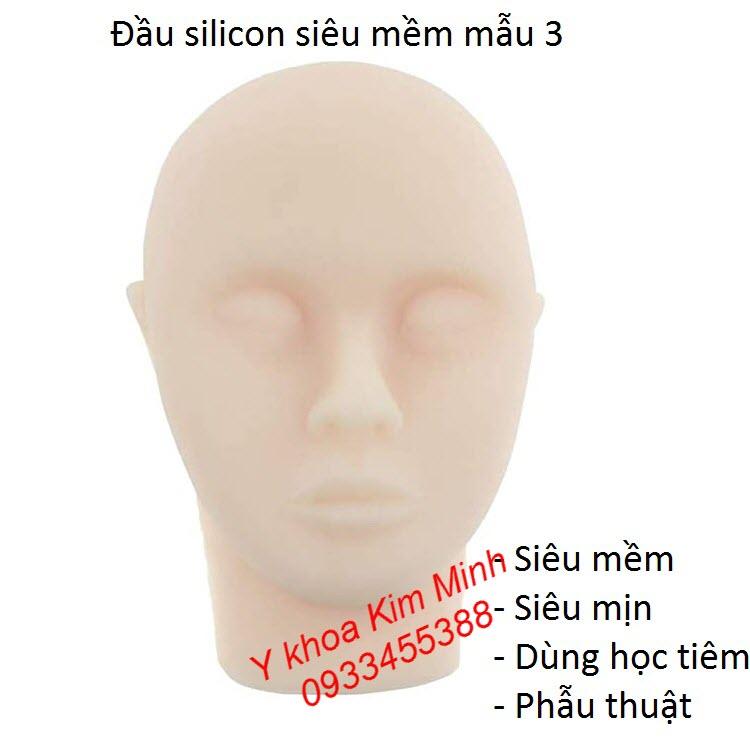 Đầu silicon giả người siêu mềm mịn dùng học tiêm chích thẩm mỹ - Y khoa Kim Minh